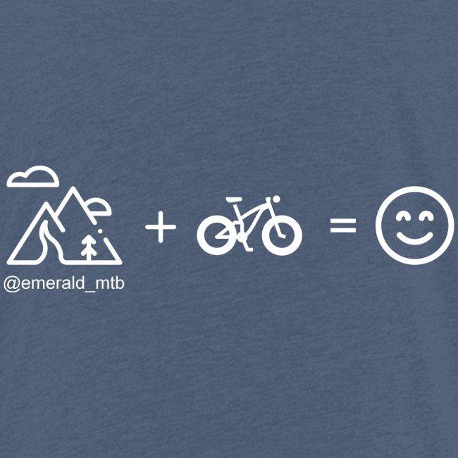 Mountains + Bike = Happiness