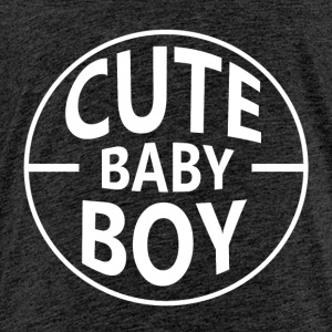 Cute Baby Boy - Premium-T-shirt barn