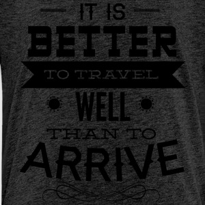 it is better to travel - Kids' Premium T-Shirt