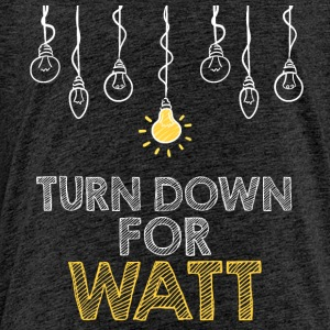 Elektriker: Turn down för watt - Premium-T-shirt barn