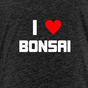 I love Bonsai - Kids' Premium T-Shirt