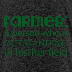 Farmer / Farmer / Farmer: En person som outstan - Premium-T-shirt barn