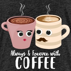 Always with coffee - Kids' Premium T-Shirt
