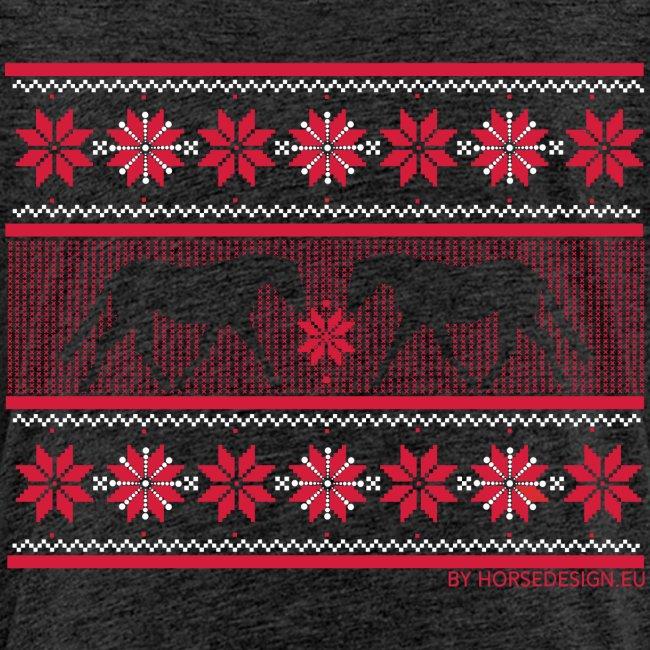 Ugly Sweater Pferde