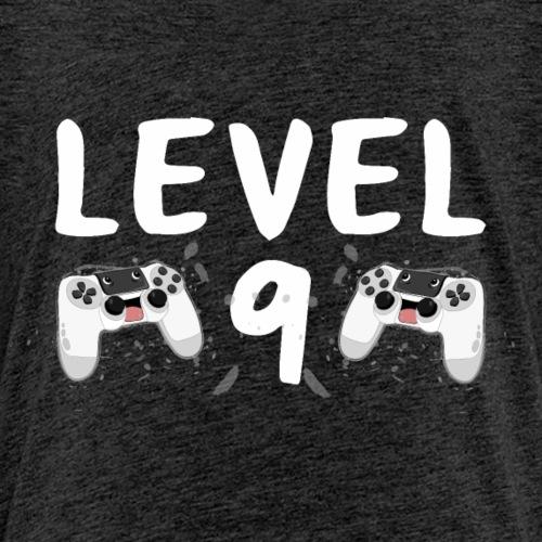 Level 9 Kindergeburtstag Shirt Geschenk - Kinder Premium T-Shirt