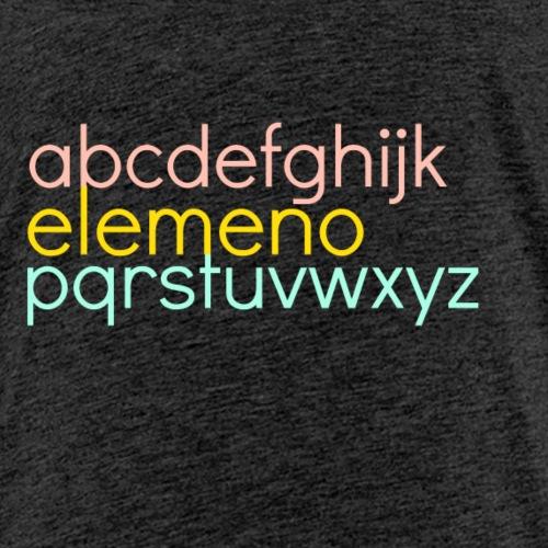 elemeno3 - Kids' Premium T-Shirt