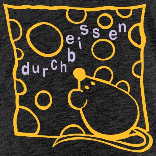 Maus mit Käse - Kinder Premium T-Shirt