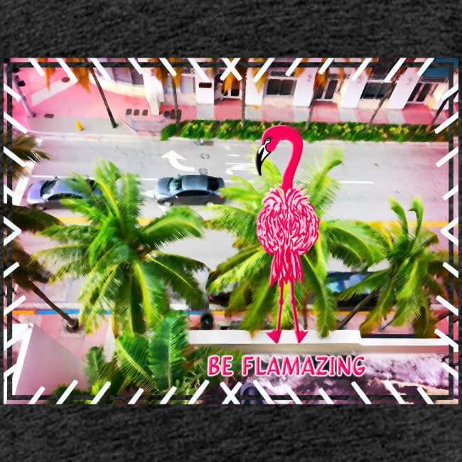 Be Flamazing! Ein Flamingo in Miami