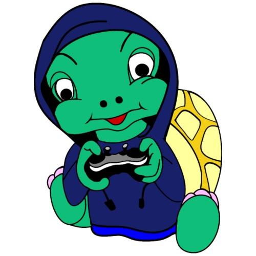 Hoodie gamer schildpad - Kinderen Premium T-shirt