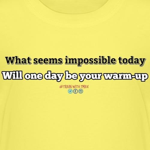New Warmup - Camiseta premium niño