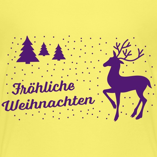 Fröhliche Weihnachten - T-shirt Premium Enfant