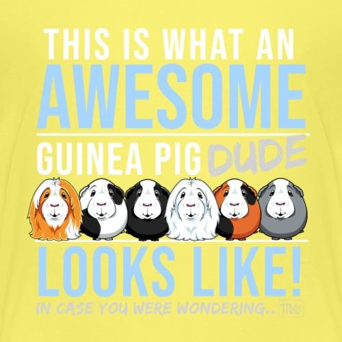 Guinea Pig Dude - Lasten premium t-paita