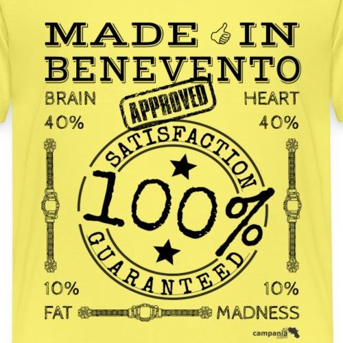 1,02 Prodotto a Benevento - Maglietta Premium per bambini