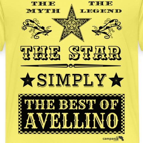 1,03 The Star Legend Avellino - Maglietta Premium per bambini