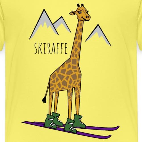 Skiraffe - Kids' Premium T-Shirt