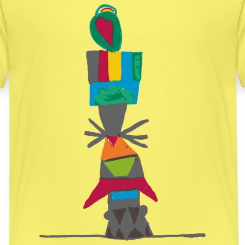 Totem, Made by Kids - Maglietta Premium per bambini