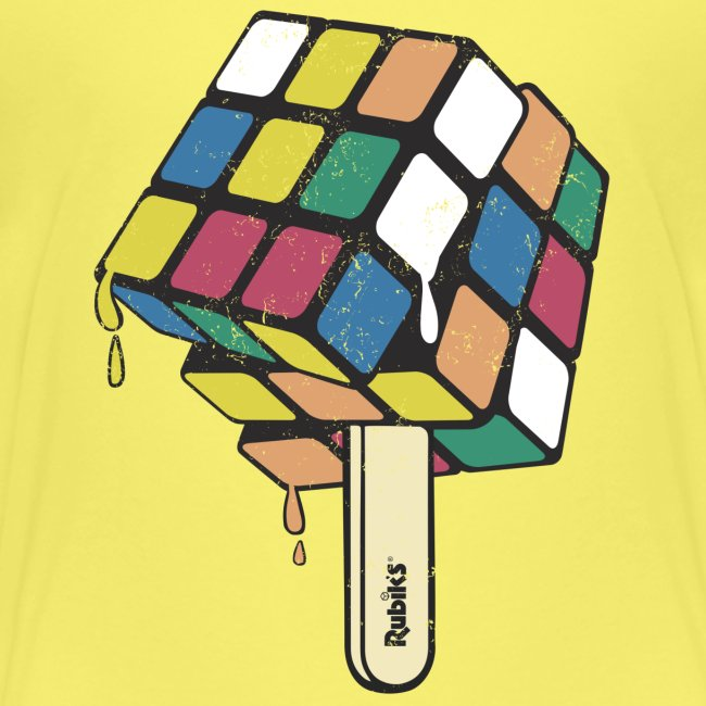 Rubik's Cube Ice Lolly