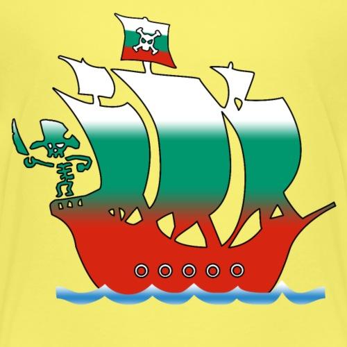 piratenschiff_bulgarien - Kinder Premium T-Shirt