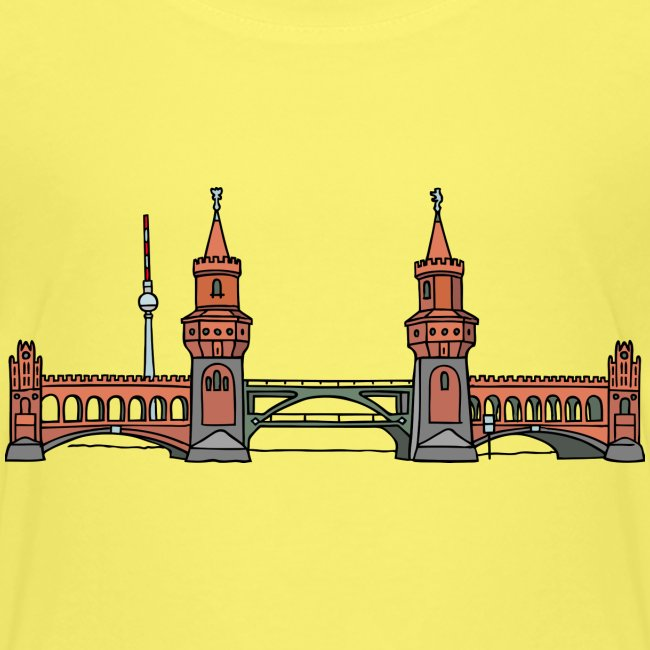 Oberbaumbrücke w Berlinie c