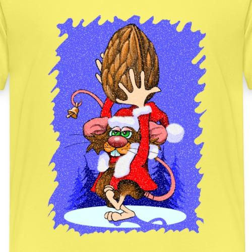 Weihnachtsmaus - Kinder Premium T-Shirt