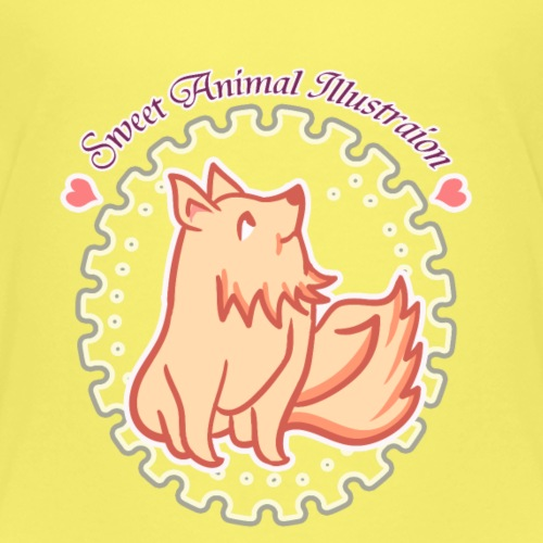 Sweet Animal Fox - Kids' Premium T-Shirt