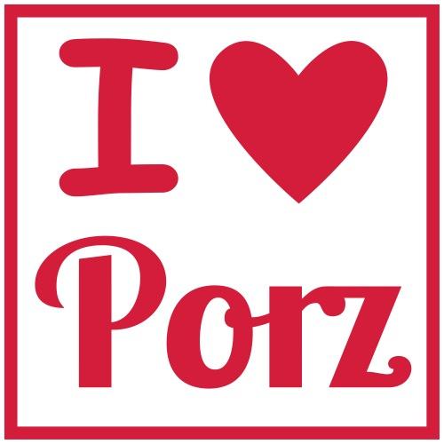 I love porz - Kinder Premium T-Shirt
