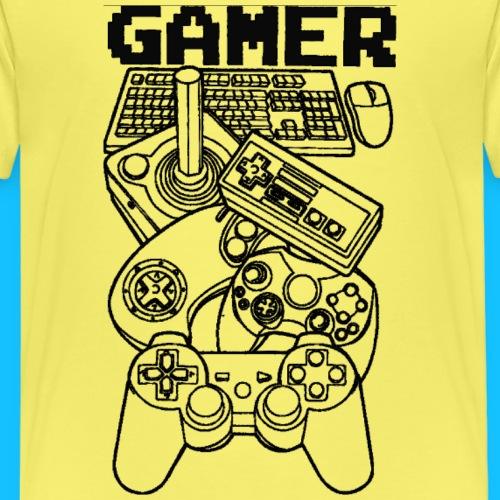 gamer - Koszulka dziecięca Premium