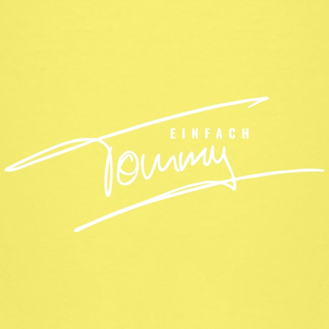 Einfach Tommy / White Font