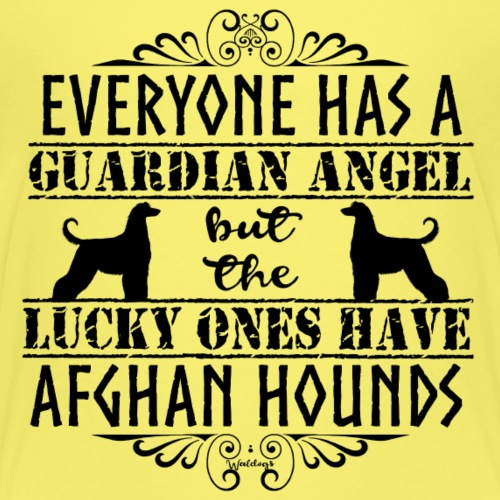 Afghan Hound Angels - Kids' Premium T-Shirt