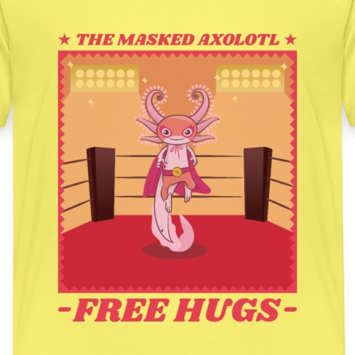 Alien Lucha Libre Mexicana   Free Hugs - Camiseta premium niño