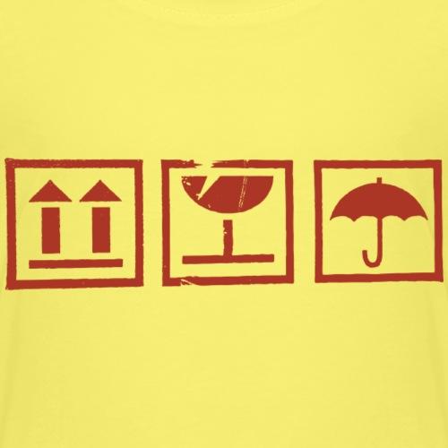 Zerbrechlich - Kinder Premium T-Shirt