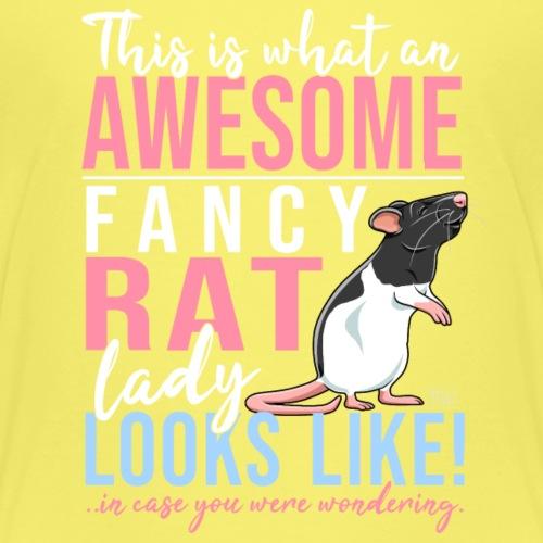 Fancyrat Awesome II - Lasten premium t-paita