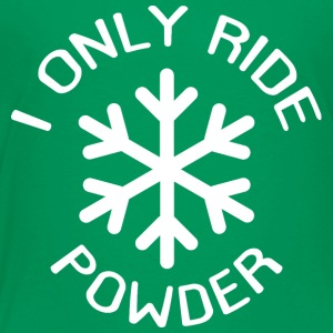 bare Powder - Premium T-skjorte for barn