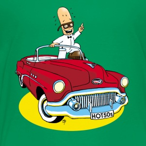 Mr Bean Man Buick - Premium-T-shirt barn