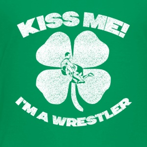 KISS ME - Premium T-skjorte for barn