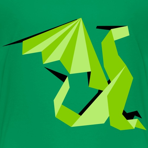 Dragon Origami - T-shirt Premium Enfant
