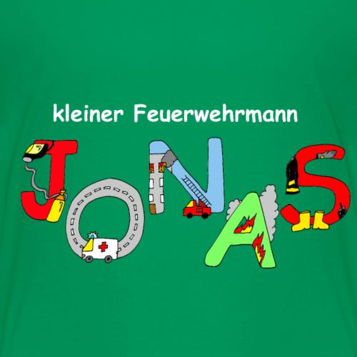 Jonas Feuerwehr Motiv mit Namen für Kinder - Kinder Premium T-Shirt