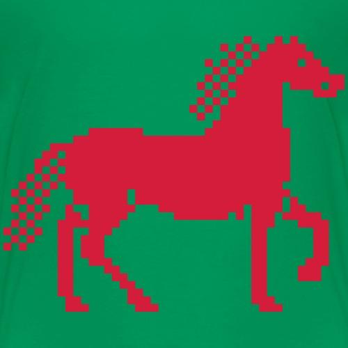 Cheval Pixel - T-shirt Premium Enfant