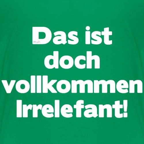 Der Irrelefant - Kinder Premium T-Shirt