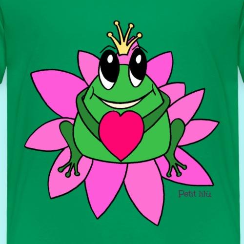 kleiner Frosch - Kinder Premium T-Shirt