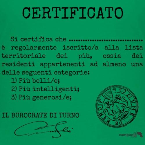 1.07 Certificato Piu Generico (Aggiungi nome)