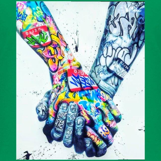 Main dans la main tatoués