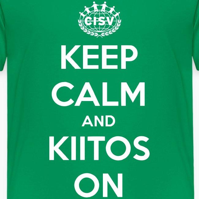 keep calm and kiitos on