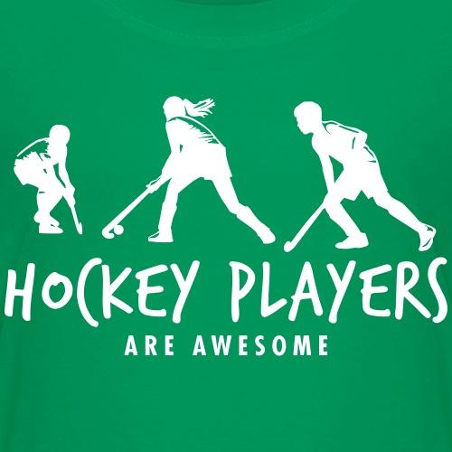 Spelers van het hockey - Kinderen Premium T-shirt