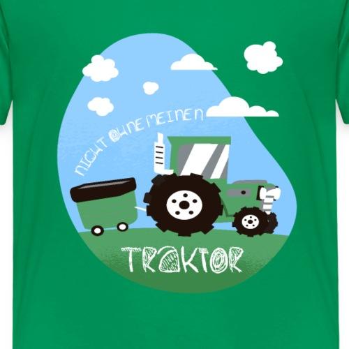 Traktor Jungen cooles Trekker Design - Kinder Premium T-Shirt