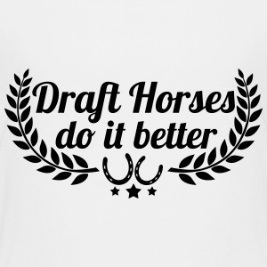 Draft Horses - Kaltblüter - Teenage Premium T-Shirt