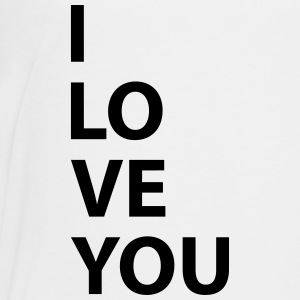 i love you - T-shirt Premium Ado