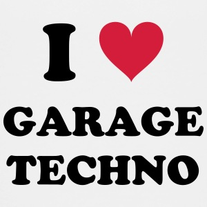 I LOVE GARAGE TECHNO - Teenager Premium T-Shirt