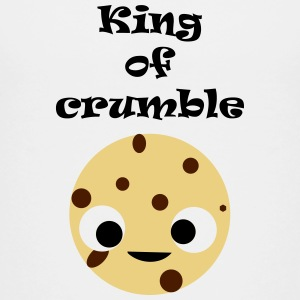 King of crumble kinderen - Teenager Premium T-shirt