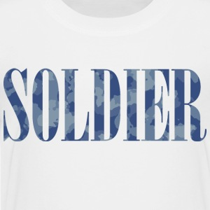 Soldier Camouflage - Teenage Premium T-Shirt
